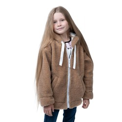 ХУДИ FOR CHILDREN CAMEL WOOL ЦВЕТ КЕМЕЛ
